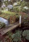 Rooster Garden Bridge Upstream