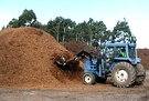 Tractor Wood Mulch