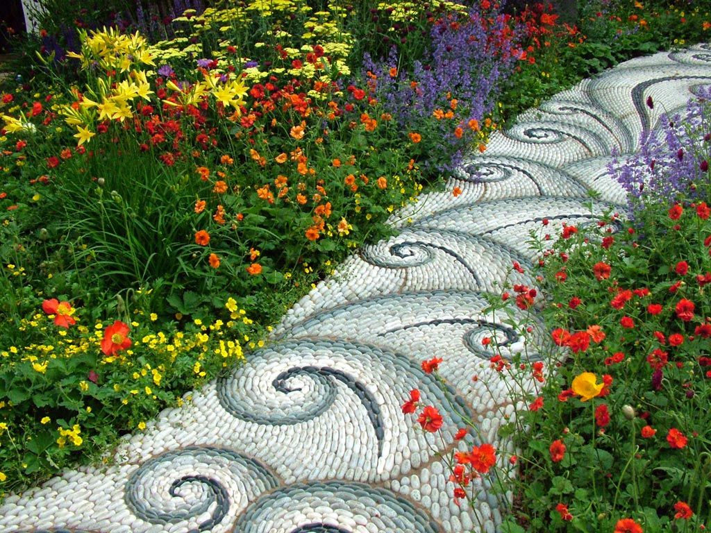 2004 for Garden mosaics designs