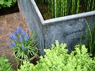 Bamboo Container Hyacinth