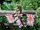 Bunting Flags Garden Fence