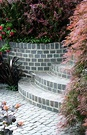 Curved Garden Steps Texture