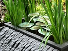 Metal Water Garden Feature