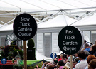 Slow Fast Garden Queues