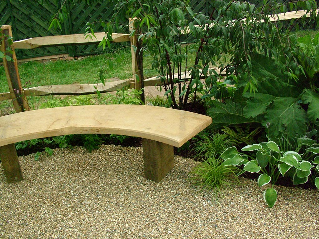 Top 30  Curved Garden Bench