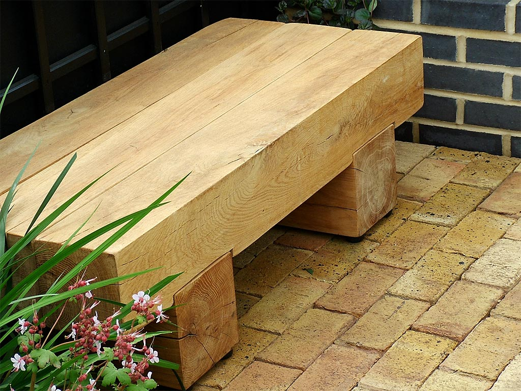 Outdoor Wood Benches