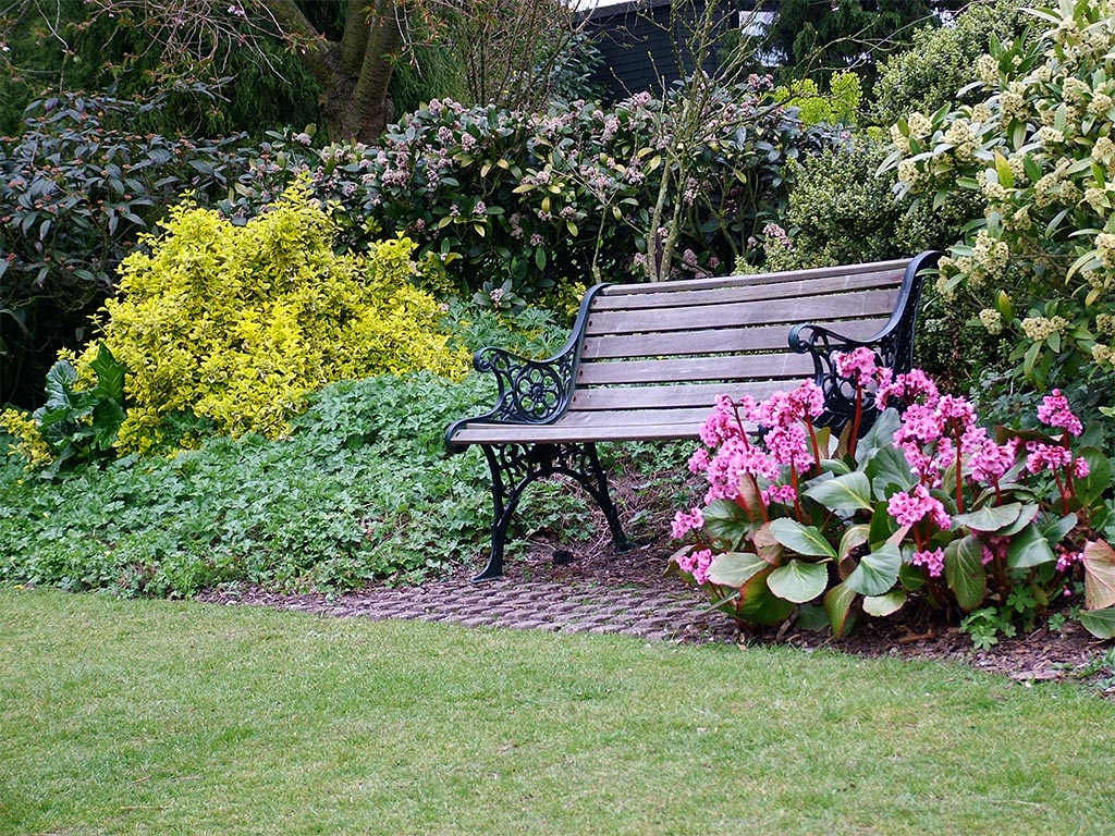 Garden benches seats for D i y garden bench designs