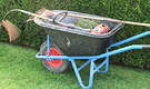 Wheelbarrow Hedge Cutter
