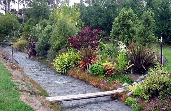 Garden Border Stream