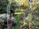 Two Cat Garden Arch