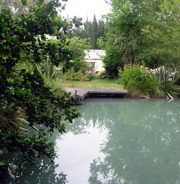 Pond Deck