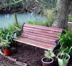 Pond Garden Bench Pots