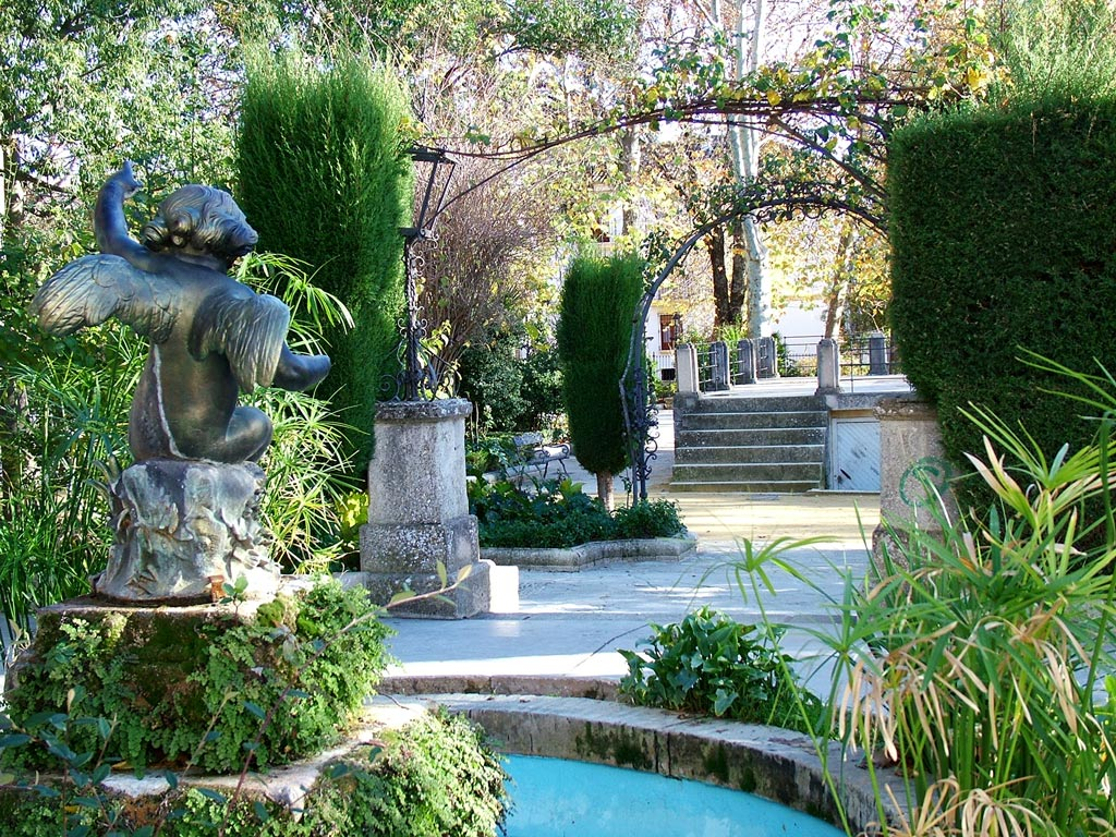 spanish garden On garden design ideas in spain