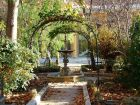 Autumn Arches And Fountains