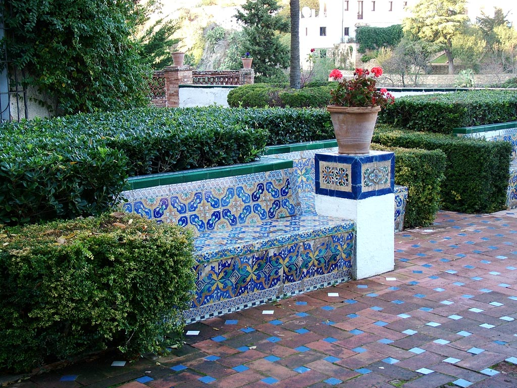 House moorish king for Spanish garden designs